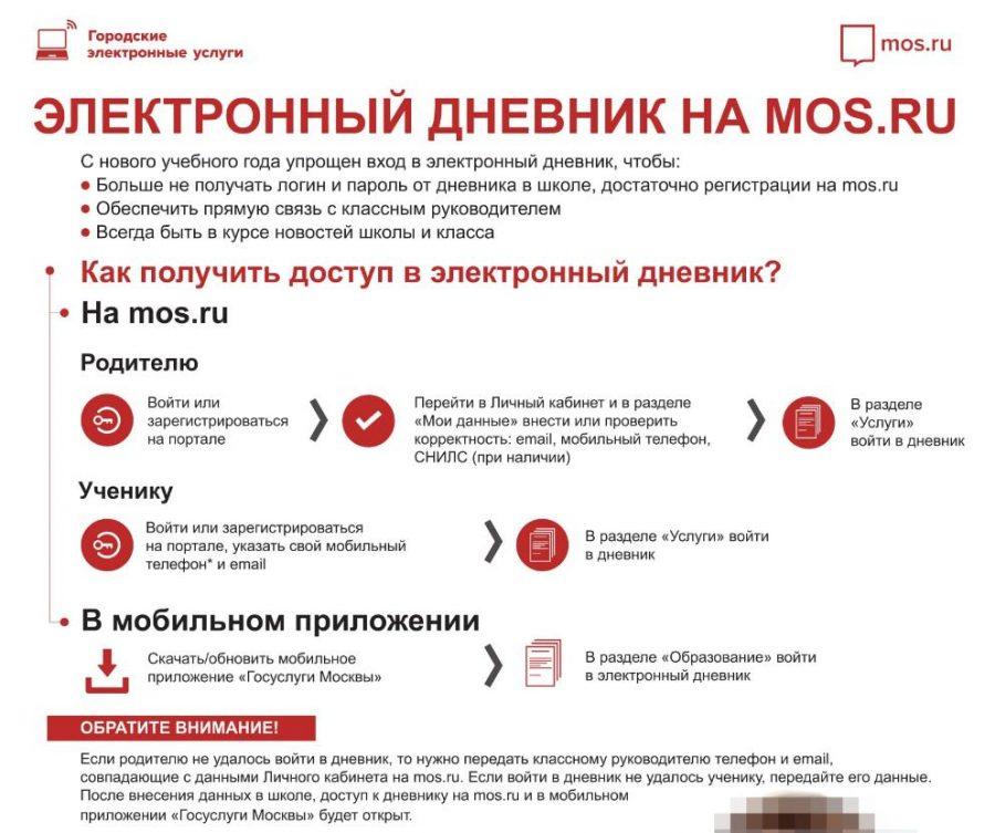ЭЖД дневник Мос.ру – вход в электронный журнал. Как работать и заполнять