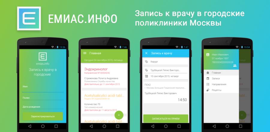 Как записаться к врачу в Москве через Емиас и pgu.mos.ru